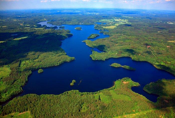 Obóż żeglarski - jezioro Bobięcińskie