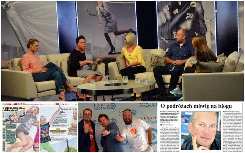 Kolonie i Obozy.net w prasie, telewizji i radiu