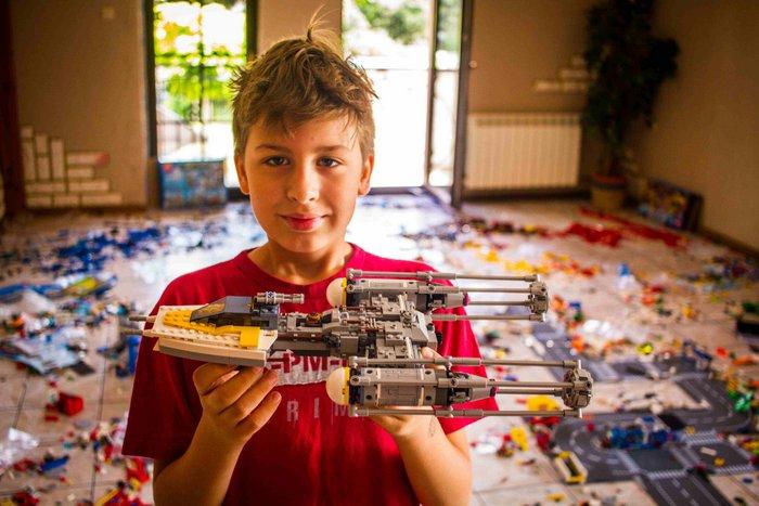 Lego Zimowisko dla dzieci