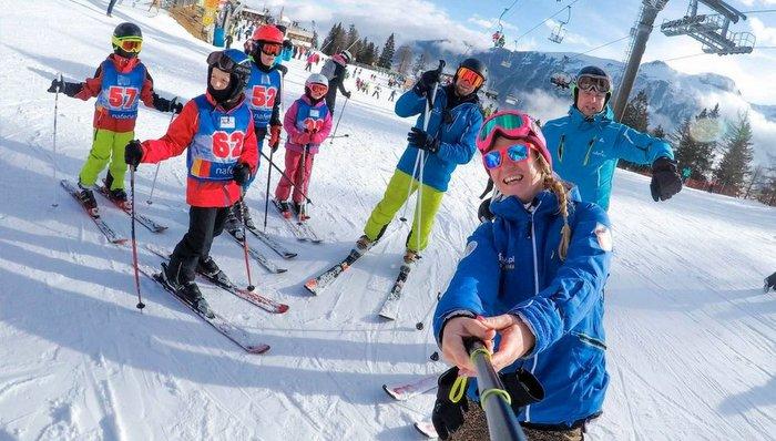 Obóz narciarski w górach - Murzasichle